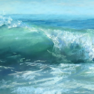 Sandra Kavanaugh Crystal Sea Pastel 9x18 550