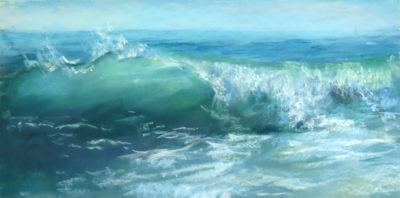 Sandra Kavanaugh Crystal Sea Pastel 9x18 550