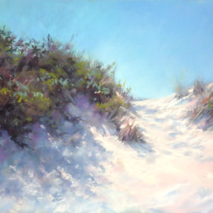 Sandra Kavanaugh Shadows on the Dunes Pastel 12x16 625