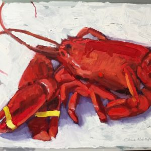 Colin Callahan Lobster Oil 9.5x7.5 400