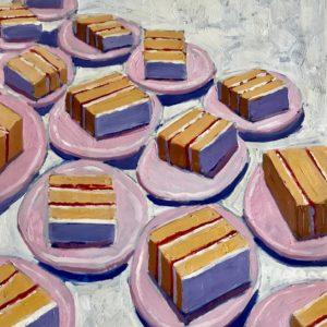 Colin Callahan Cakes Oil 20x36 1,250