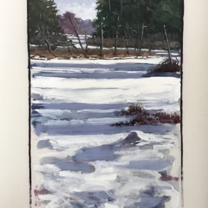 Colin Callahan Winter Stream 20x36 1,250