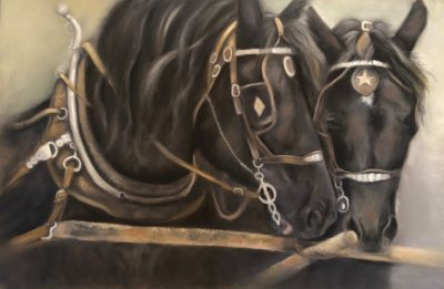 Josee Severino Its a Match Pastel 27x40 2400