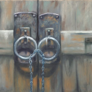 Josee Severino Lost Keys Pastel 27x40 2400