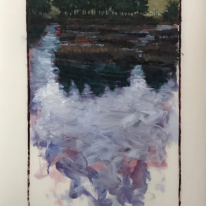 Colin Callahan Pond Summer 20x36 1,250