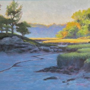 Dawn Sanel On the Marsh pastel 10.5x15 550