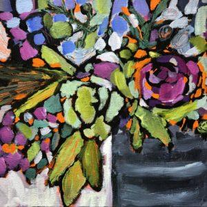 Dana Boucher Favorite Vase Acrylic 9x12 545