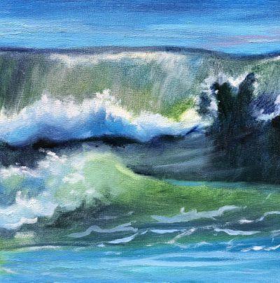 Sandra Kavanaugh Atlantic II Oil 6x6 125