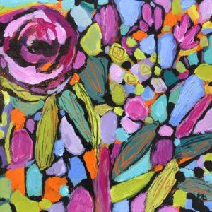 Dana Boucher Stained Glass Acrylic 6x6 225