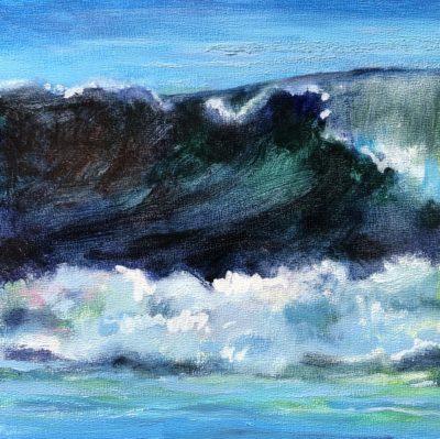 Sandra Kavanaugh Atlantic I Oil 6x6 125