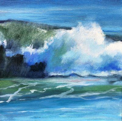Sandra Kavanaugh Atlantic III Oil 6x6 125