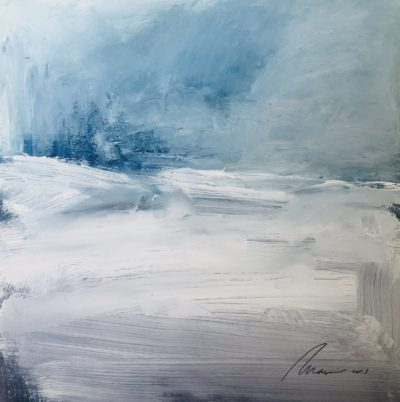 Richard Morin White Out oil 10x10 300