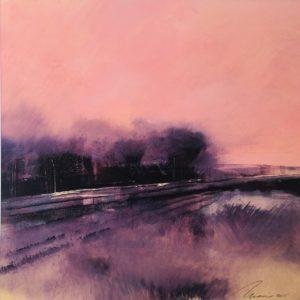 Richard Morin Violet Spring Planing oil 11x11 300