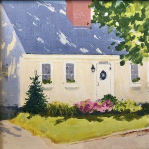 Judy McLean Sunny in Francestown Acrylic 10x10 450