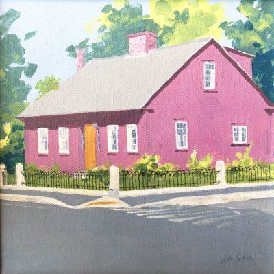 Judy McLean Concord Corner Acrylic 10x10 450