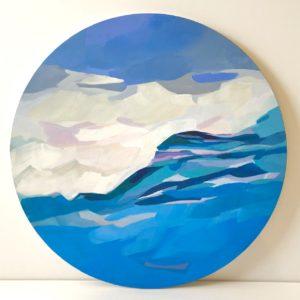 Kiele Gregorie Frost Swell Acrylic 20x20 350