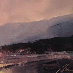 Richard Morin Crimson Range oil 7x9 225