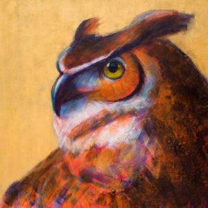 Rosemary Conroy Wild Thing Acrylic 40x40 3548
