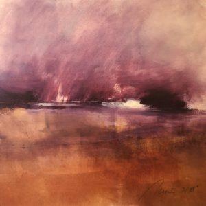 Richard Morin Summer Orchard oil 11x11 300