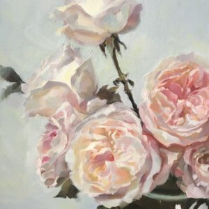 Cynthia Arieta Ethereal Rose oil 14x18 700