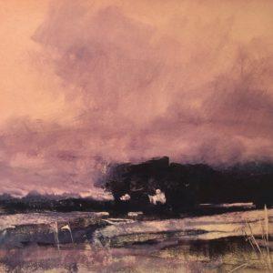 Richard Morin Violet Sunset oil 11x11 300