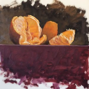 Colin Callahan Orange Slices Oil 9x9 400