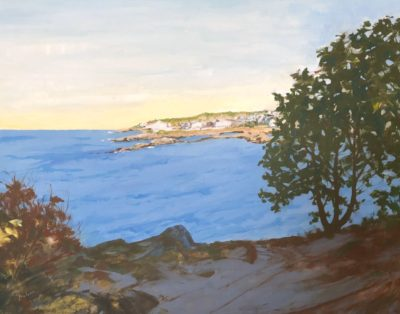 Judy McLean Along the way Acrylic 20x24 1950