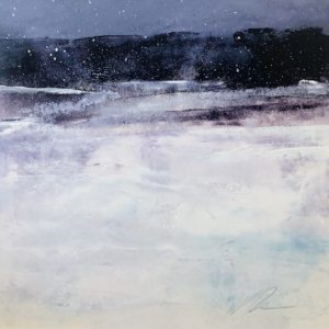 Richard Morin Winter Fields oil 7x7 250
