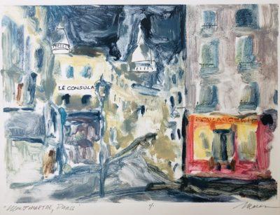 Richard Morin Montmartre Paris oil 7x9 250