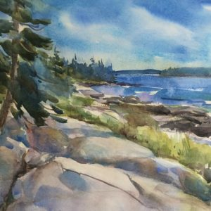Becky Darling Buckle Harbor Maine 14x21 575