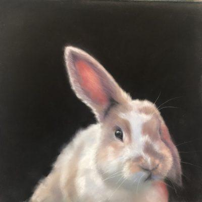 Josee Severino Listen Up For Bunny pastel 830