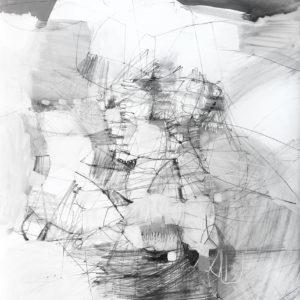 Gretchen Warsen Grey Lady Acrylic 22x16 420