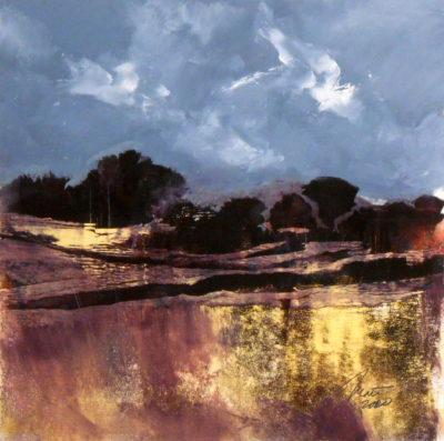 Richard Morin Stonewalls 20-8 Oil 12x12 300