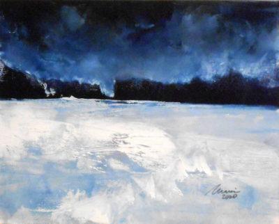 Richard Morin Winter Surprise 8x10 oil 225