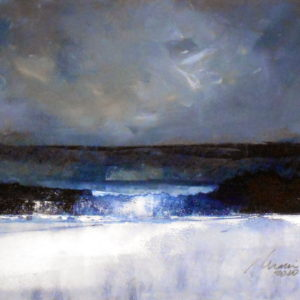 Richard Morin Winter Mirage 8x10 oil 225