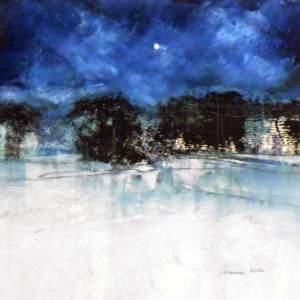 Richard Morin Solstice Moon Oil 12x12 300