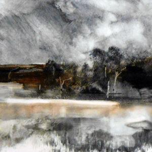 Richard Morin Landscape M20-1 Monotype 8x10 225