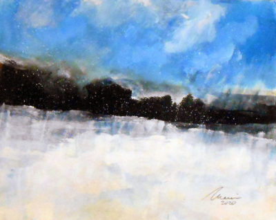 Richard Morin Early December 8x10 oil 225