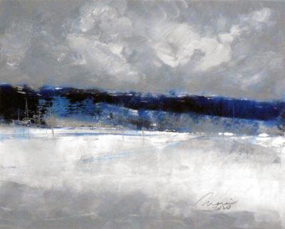 Richard Morin Frost Laden Morning oil 8x10 225