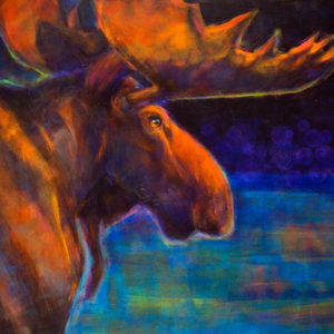 Rosemary Conroy The Duke of Piscataguog acrylic 36x48 3998
