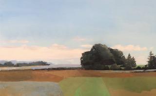 Molly Wensberg Coastal View oil 30x48 5500