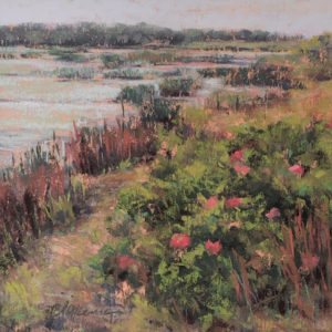 Marcia Blakeman Peaceful Stroll pastel 5x5 525