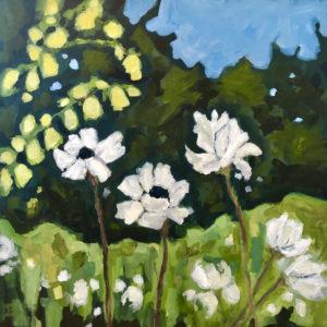 Dana Boucher Summer Blooms acrylic 36x36 1900