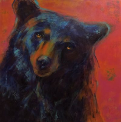 Rosemary Conroy Love Will Keep Us Together acrylic 40x40 3548