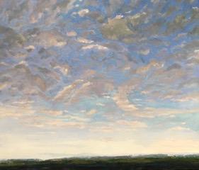 Molly Wensberg Stratus Symphony oil 30x36 3500