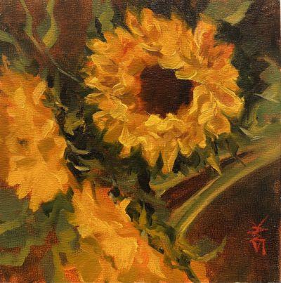Sandra Kavanaugh Trio oil 6x6 125