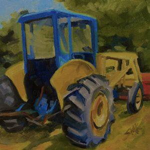 Sandra Kavanaugh Primary Tractor oil 6x6 150
