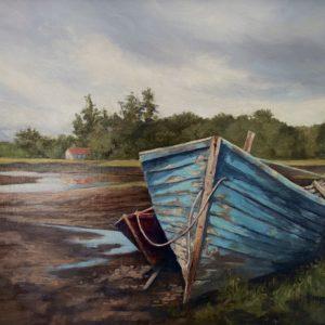 Dawn Sanel Remembering The Sea oil 16x20 1200