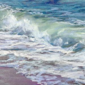 Sandra Kavanaugh Sea Jewels #39 pastel 5.5x7.5 175