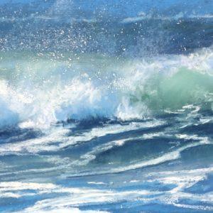 Sandra Kavanaugh Sea Jewels #49 pastel 5.5x7.5 175